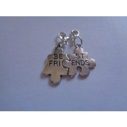 Best friends páros kapcsolható charm