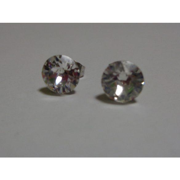 Swarovski kristályos bedugós fülbevaló - crystal