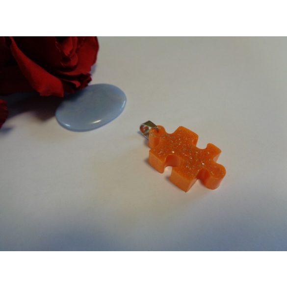Narancs puzzle medál